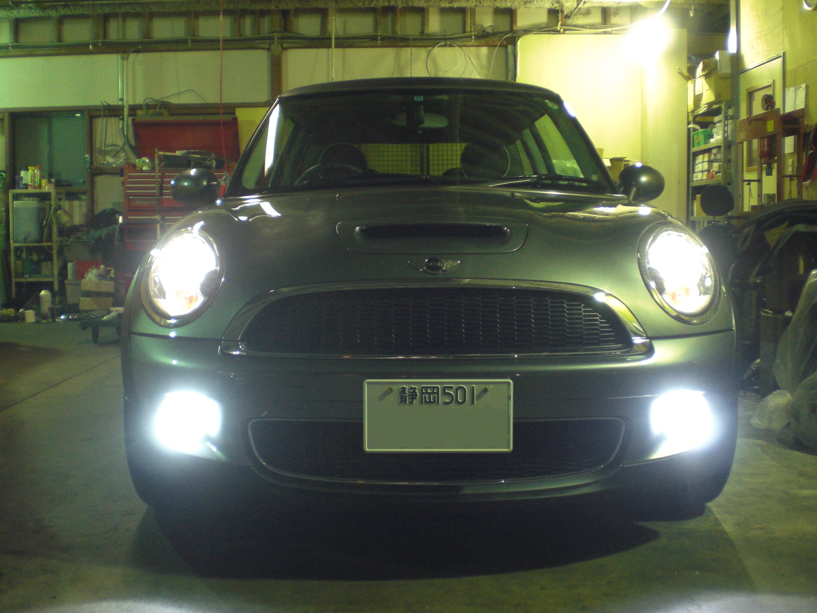 R56 s hid garage pit house for Garage mini cooper annemasse